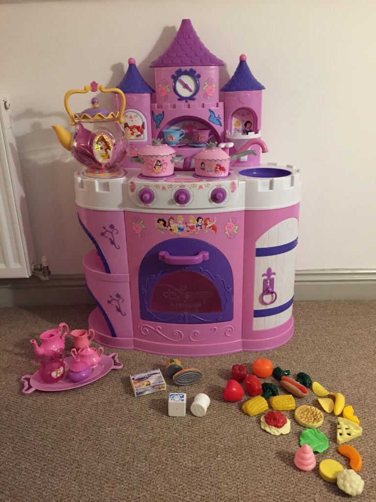 Disney Princess Play Kitchen Accessories