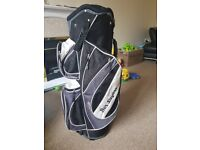 Golf bag perfect for the trolly