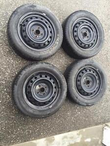 ALL SEASONS 185/60/15 CHAMPIRO ON RIMS $450.00 (80NPLN07142) MIDLAND ON.