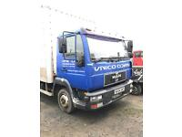 Man 7.5ton 2004 ideal recovery