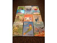 Selection of 12 Ladybird books