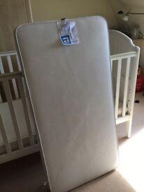 Mothercare sprung cot mattress