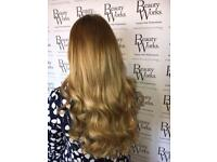 Hair Extensions Liverpool! Weft and individual extensions specialist