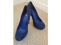 Blue Size 5 shoes