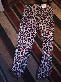Topshop trousers size 10
