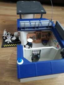 Playmobil Take Along Police Headquarters
