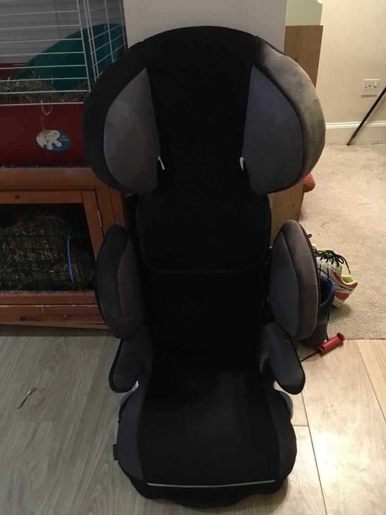 John Lewis car seat and booster