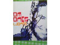 TOM JONES CD album ..Signed in person!!