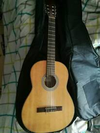 Classical guitar made in Spain
