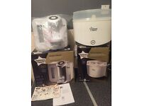 Steriliser and prep maker