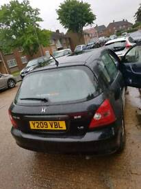 Honda civic auto