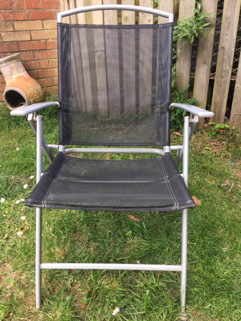garden table and 4 folding chairs - Garden Furniture Kings Lynn