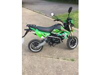 BSR 125cc road legal bike