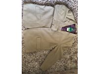 Williams and brown light brown jacket