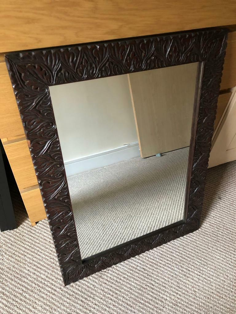 Antique Solid Wood Mirror In Cardiff City Centre Cardiff Gumtree