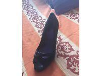 Black river island shoes size 7