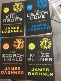 The maze runner book set