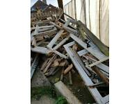 Free: fire wood, easy access, collection only, Mickleover, derby, De39bq, thanks.