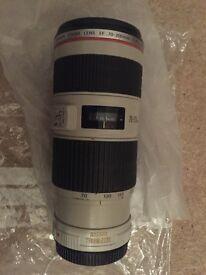 Canon Lense 70 200 mm 1/4 L IS USM