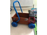 Wooden Baby Walker Truck from Great Gizmos