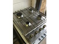 Stainless Steel Built in Smeg Gas Hob Fully Working Order Just £20 Sittingbourne