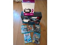 Wii U Zombie limited Edition 32GB with games