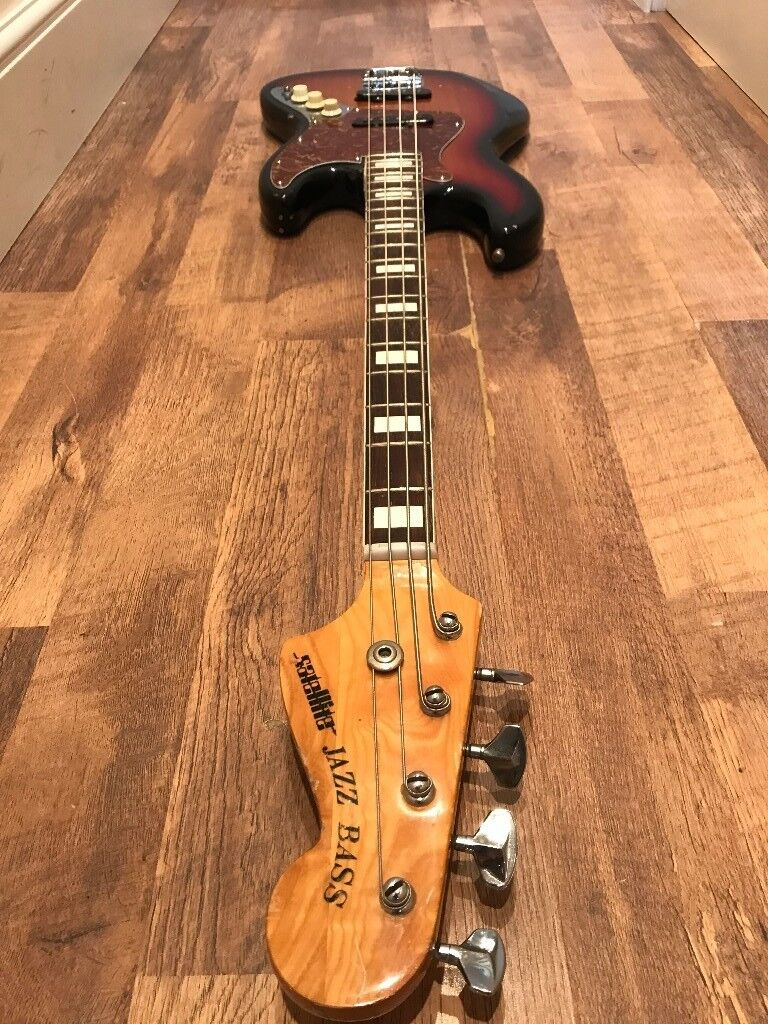 Road Worn Japanese Satellite Jazz Bass Right Handed