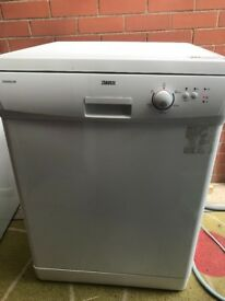 Zanussi Tempoline Dishwasher Free Standing Used Good Condition