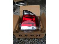 Vectra B 2003 Rear light cluster Smoked Model (Drivers Side)