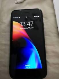 IPhone 7 32gb unlocked black good condition