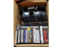 Sony PlayStation 3 60GB CECHC03 Black Console PS2 backward compatible+22x PS2/PS3 games+Camera