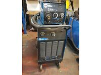 Miller Blu-pak 45 with 20 series wirefeeder. Heavy 450A MIG Welder. Fully working