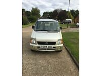 SUZUKI R WAGON GL 1999 1.1 PETROL MOTED AUGUST 18 LOW MILEAGE BEST OFFERS ITS CHEAP AND GOT TO GO