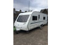 ELITE OVERLANDER CARAVAN FOR SALE FANTASTIC CONDITION AND EQUIPPED FOR FAMILY OF FOUR