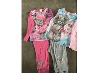 Tatty Ted pyjamas x2 age 7-8years