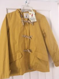 Ladies Seasalt Seafolly Mustard Jacket Size 14 New With Tags