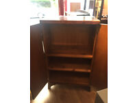 Tallboy - great for storage . Has 3 shelves. Size L 29in D 18in H 48in Free local delivery.