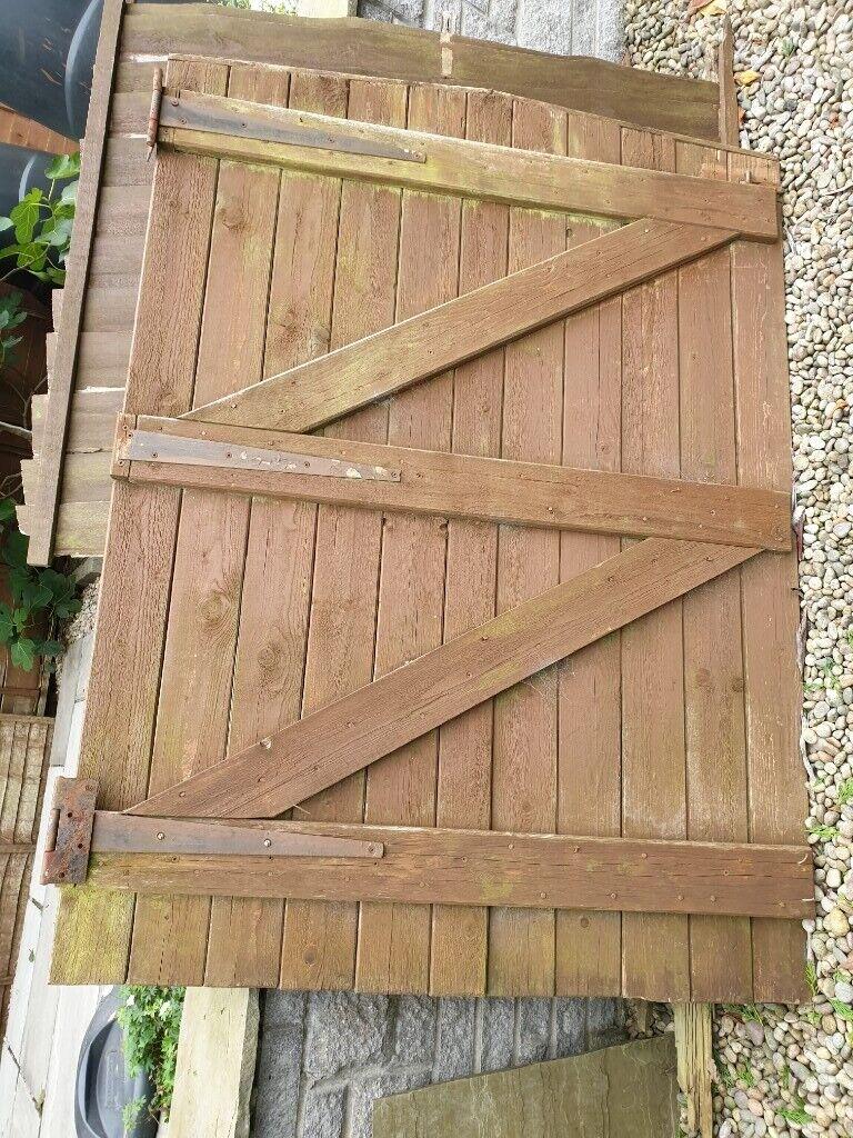 Wooden gate | in Polmont, Falkirk | Gumtree