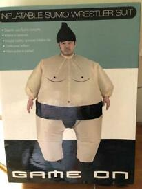 Sumo inflatable suits x2 (£12 each or £20 for 2)
