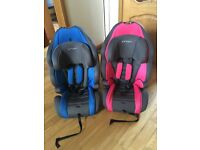 His and hers Pampero car seats for sale