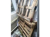 3 x Free Pallets in Brighton North Laines