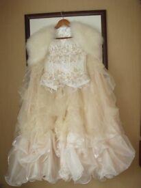 Beautiful handmade Swarovski wedding dress package.