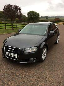 AUDI A3 sportback 2012 EXTREMELY LOW MILES