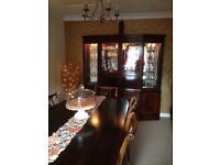 Dining Room Suite - Mahogany