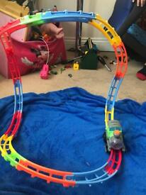 Tumble track train