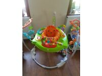 Jumperoo rainforest bouncer £50ono