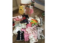 Girls baby clothes bundle 3-6 months