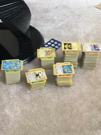 Massive Pokemon card collection