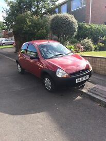 Ford KA, 2002. Great condition, perfect first car