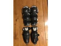 Fox Titan motocross shin and elbow pads